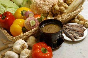 La Bagna Cauda plato típico del Piamonte